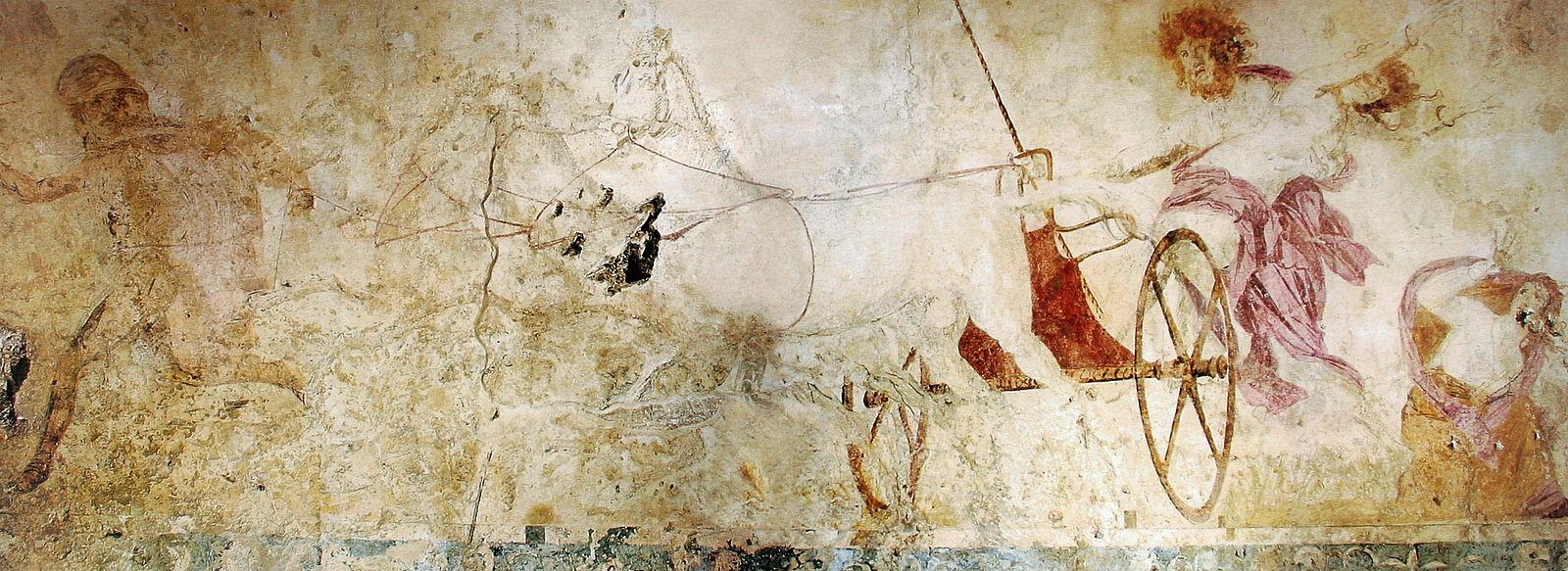 Hadès et Perséphone enlèvement