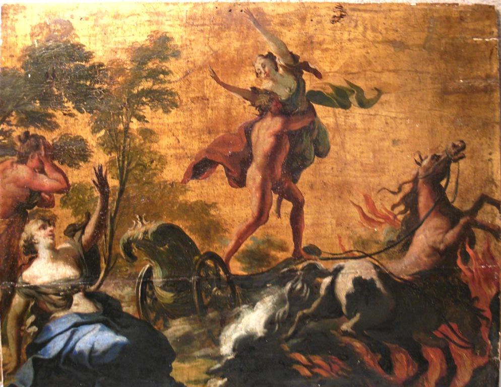 L'enlèvement de Perséphone par Hadès