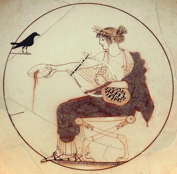 Apollon et sa lyre